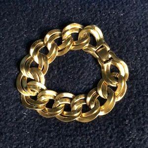 Monet Vintage Gold Tone Bracelet